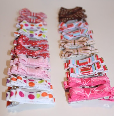 no-slip DIY hair clips tutorial-making some this weekend! Looks like a trip to Hobby Lobby is in order!
