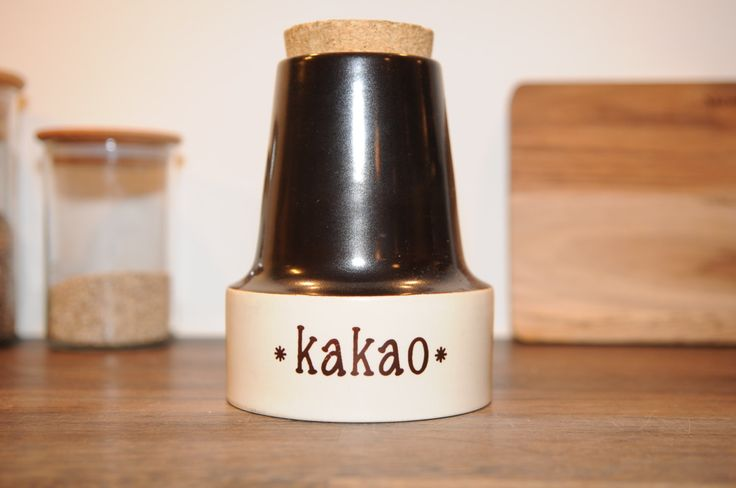 "Søholm ""Kakao"" Jav with cork by nORDICbYhEART on Etsy"