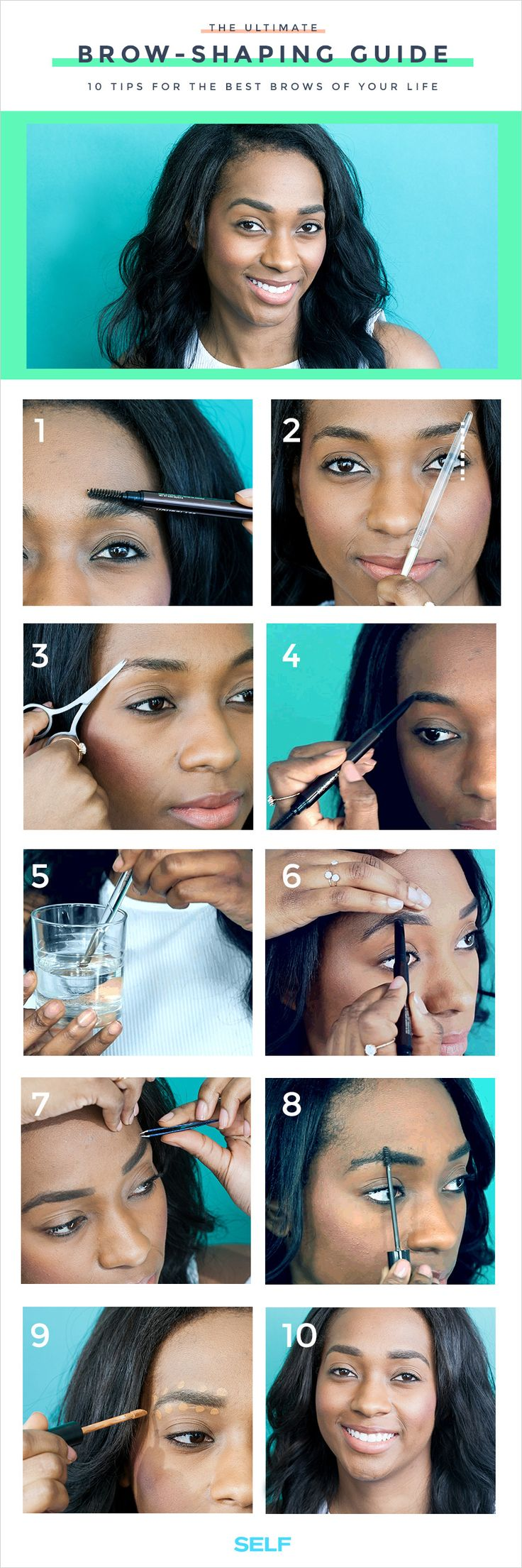 10 Tips For The Best Brows Of Your Life - SELF