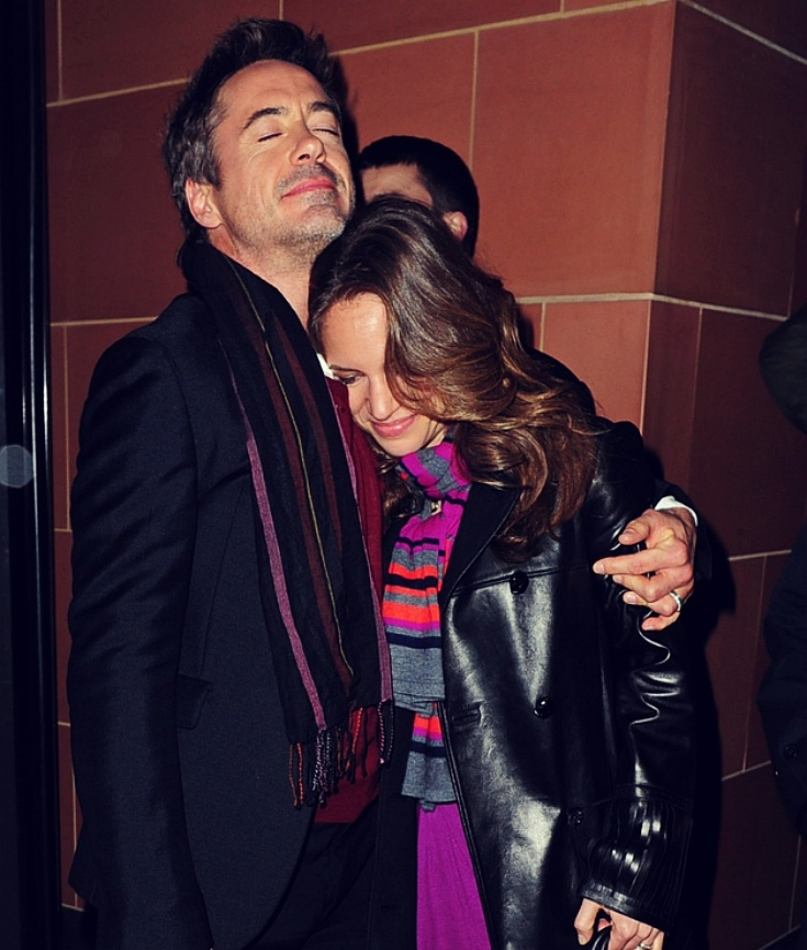 Robert and Susan Downey = adorable