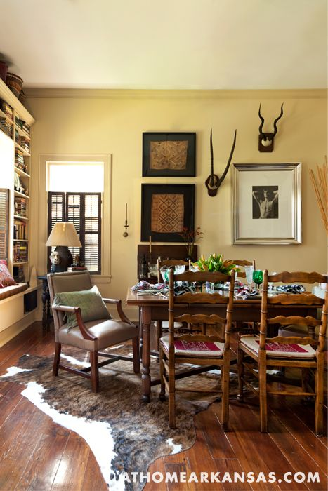 Cabinet Of Curiosities   At Home Arkansas   November 2013   Design By David  Kirkpatrick And