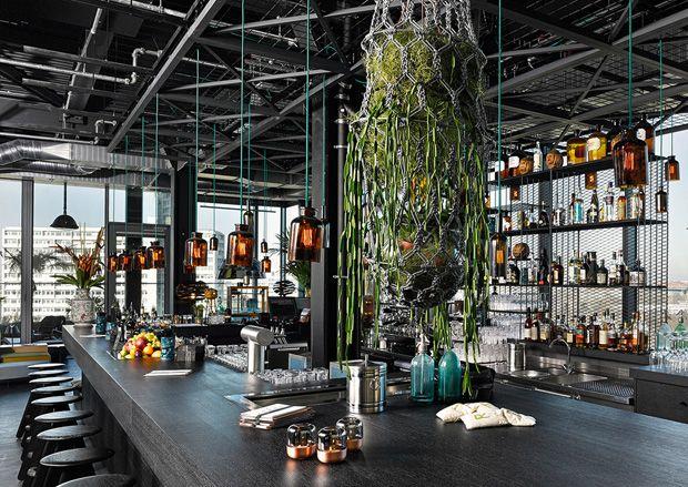 un h tel de luxe berlinois la d coration zen et moderne decoration design pinterest. Black Bedroom Furniture Sets. Home Design Ideas