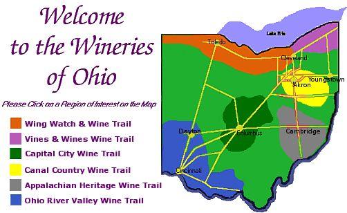 Wineries of Ohio