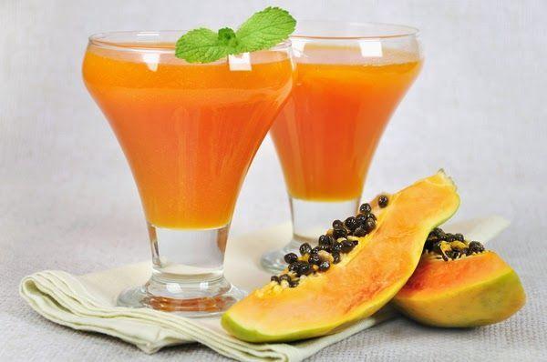Centrifuga di papaya e mango, ricetta salutare