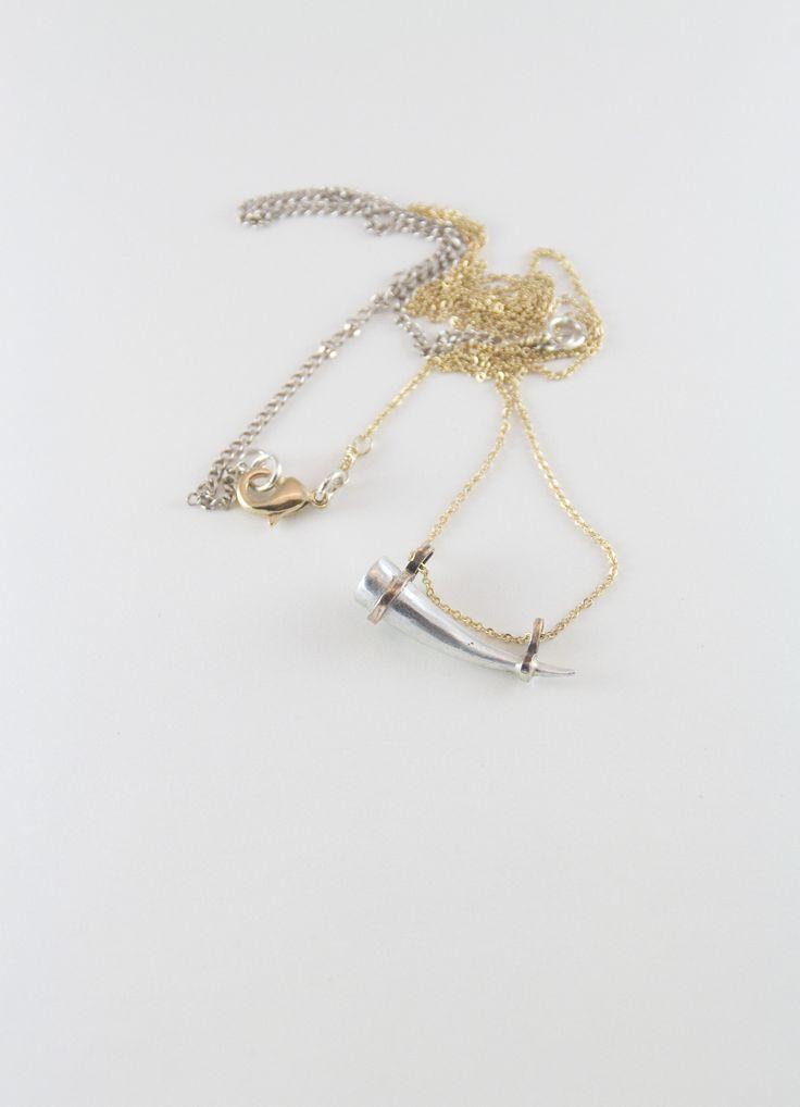 cornicello necklace / www.afarjewelry.com/shop