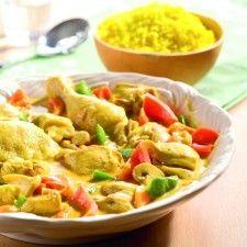 Prime chicken curry (kip-kerrie schotel)