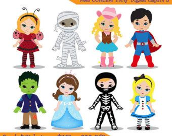 108 best halloween costumes clip art images on pinterest svg rh pinterest com halloween costume ideas clipart halloween costume parade clipart