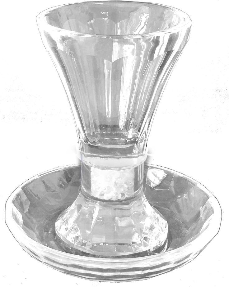 Kiddush Cup w/Coaster Size 11*11 cm