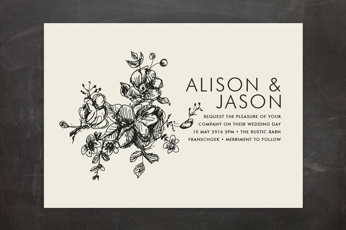 17 Best Ideas About Illustrated Wedding Invitations On