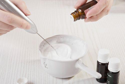 Технология приготовления крема с Оливем 1000