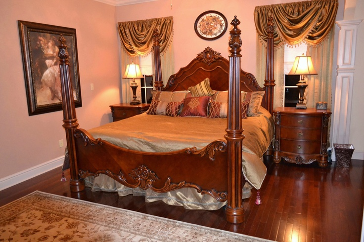 Edwardian Poster Bedroom Set Pulaski | Bedroom Sets | Pinterest | Bedrooms