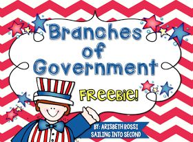 Diary of a Not So Wimpy Teacher: Teaching Government in the Primary Grades. FREEBIE from Sailing into Second.