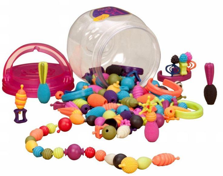 B.toys Spojovací korále a tvary Beauty Pops 150 ks | MALL.CZ