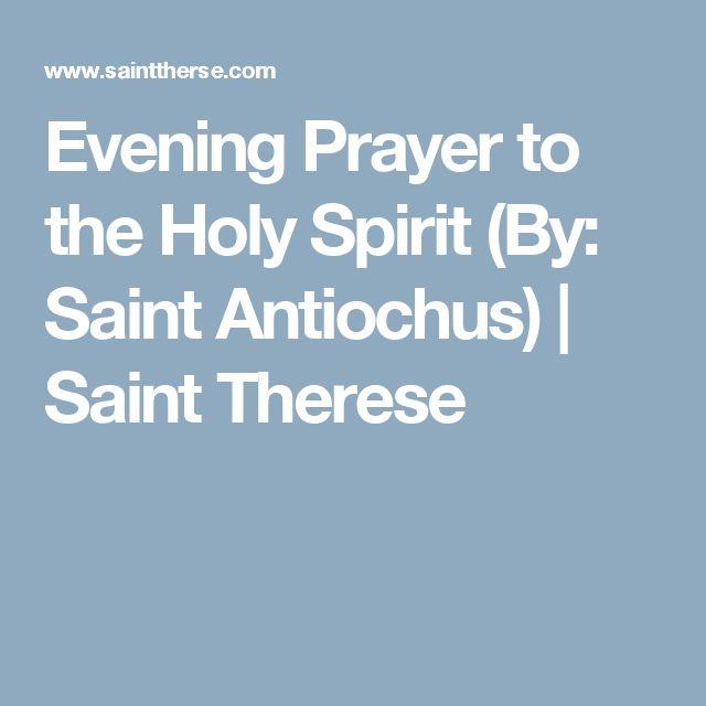 17 Best Ideas About Holy Spirit Prayer On Pinterest