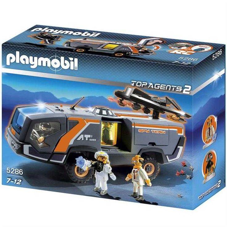 Playmobil Top Agents 2 Casus Takım ve Araç Oyun Seti 5286