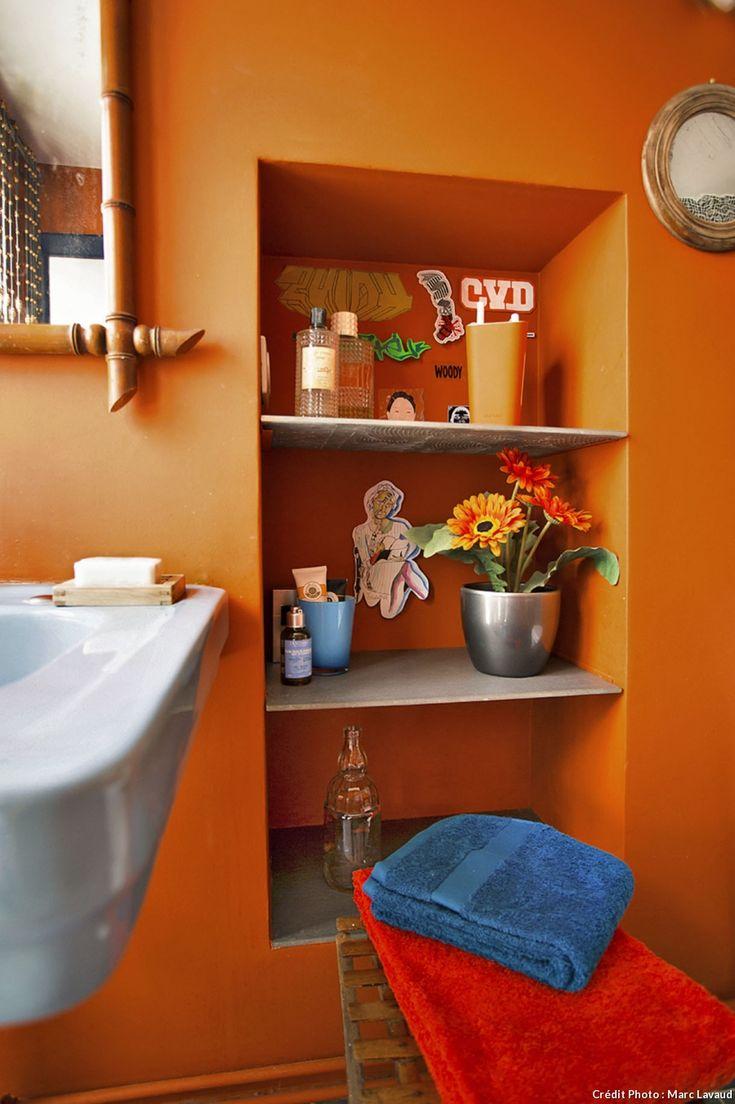 17 meilleures id es propos de couleurs de petites salle for Decoration pour petite salle de bain