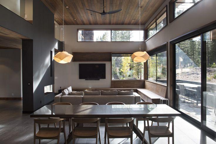 Method Homes - Martis Camp | dining room ideas | dining room table | dining room decor | dining room | dining room lighting