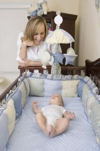 How to Sew a Crib Bumper by Hand