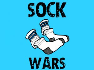 Buy a bag of athletic old school style socks. Recruit a few guys and girls to come forward. Make a circle with the rest of the group members in a street fight style fashion. Have the volunteers take off their shoes and previous socks and give them the new pairs of socks or just one sock per player. Tip: When you pick the girls make sure they are wearing jeans or shorts so that you don't compromise them visually to the group. Students must attempt to pull the other players socks off. Every…