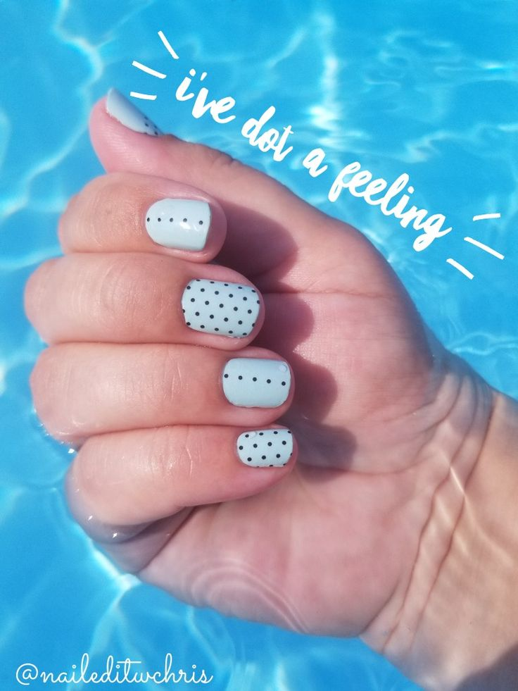 Color street ive dot a feeling color street nails