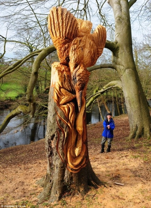 Best images about tree carving on pinterest chainsaw