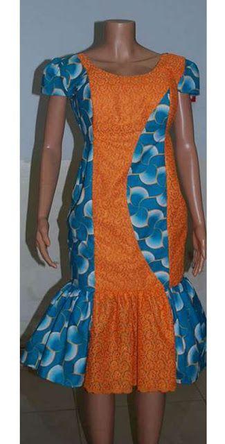 Ankara Gown Design for Ladies http://www.dezangozone.com/2016/06/ankara-gown-design-for-ladies.html