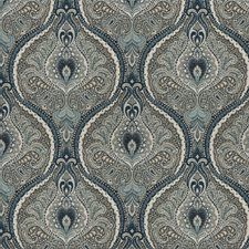 Image result for teal damask fabric