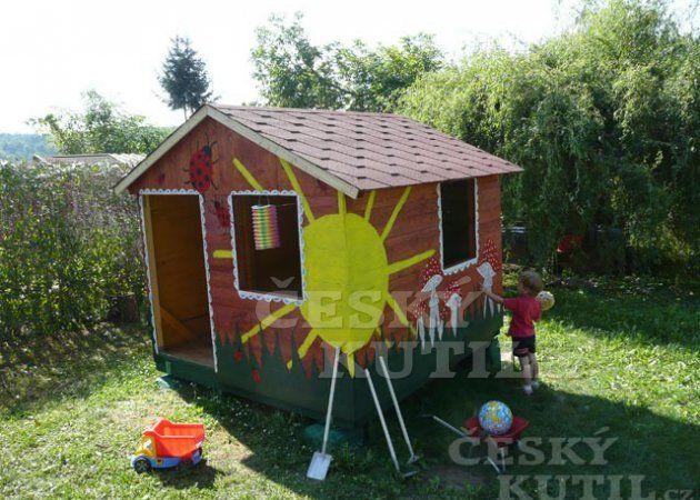 Zahradní domek pro dítě