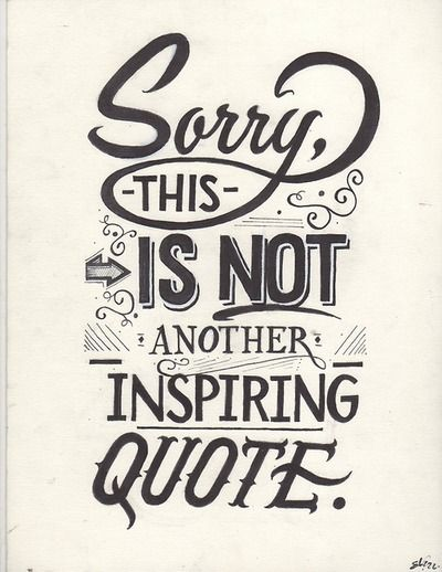 A Few Inspiring Words Hand Lettering By Eduardo