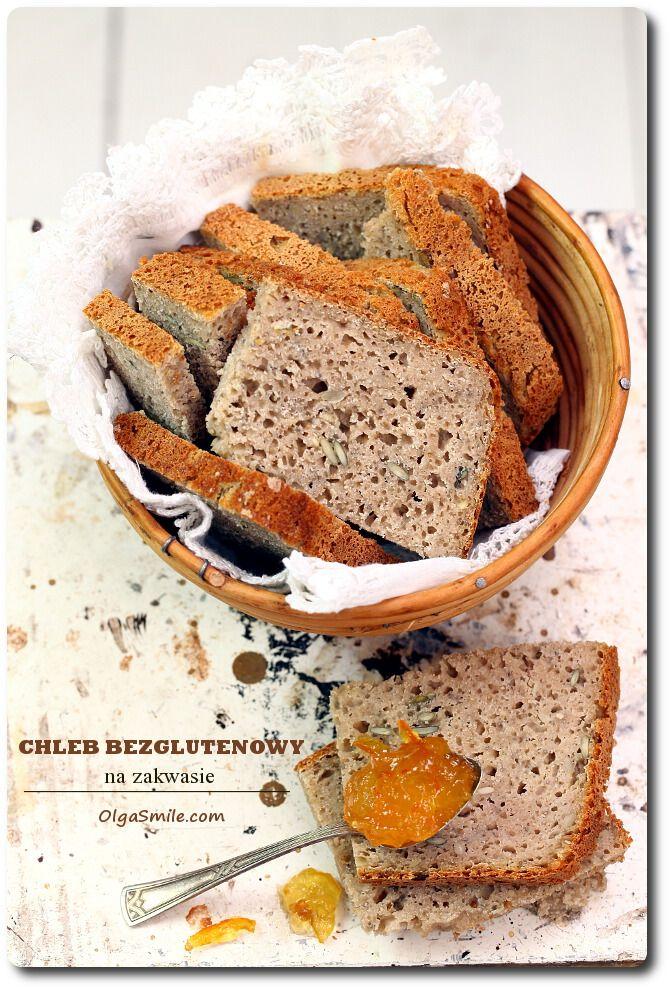 Chleb bezglutenowy na zakwasie Olgi Smile