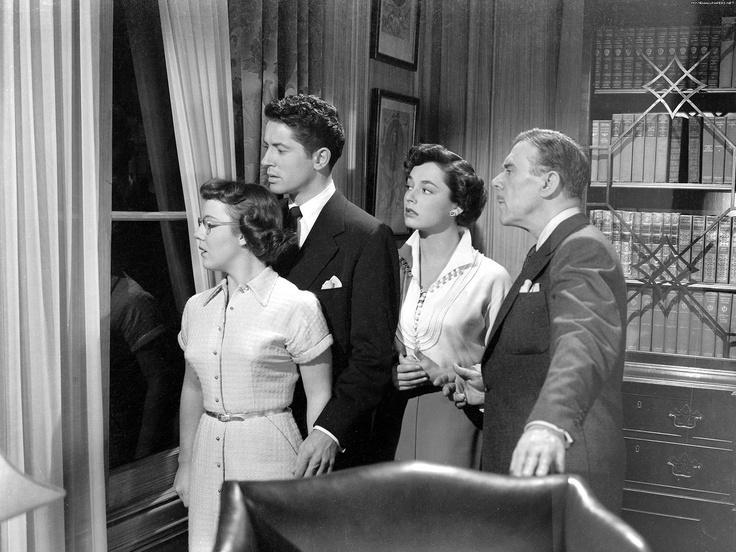 Patricia Hitchcock, Farley Granger, Ruth Roman, Leo G. Carroll - Strangers on a Train (Alfred Hitchcock,1951)