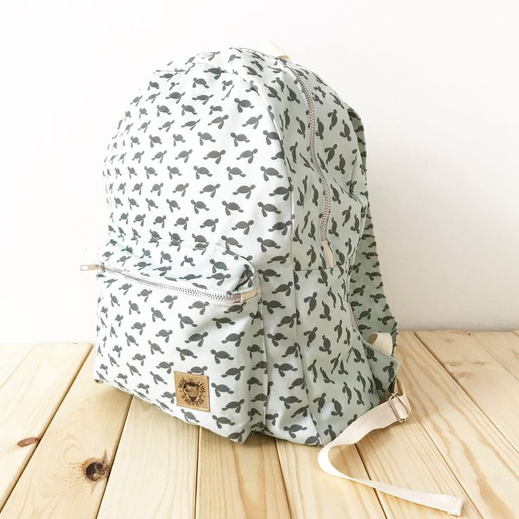 Sea turtle backpack by The Mochi & The Bear