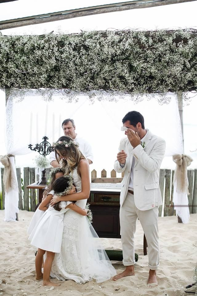 Daminhas - Casamento na Praia | Beach Wedding - Marilia Boaretto & Marcio Gianotto - Blog Tip Lovers.