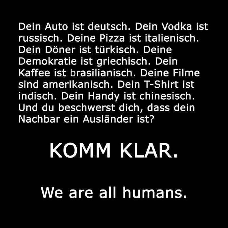 Ich bin Deutsche. Und ich bin nicht rassistisch!