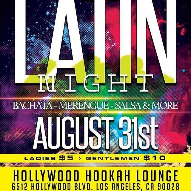 Credit to @dominicansincali  It's going down on Thursday > August > 31 > at Hollywood Hookah Lounge > Special DJs > Bachata > Merengue > Salsa > Merengue Tipico > Dembow > ITS LIT!! Follow @nycmeetshollywood   #nycmeetshollywood #NYvibes #calivibes    #HollywoodTapFL #HollywoodFL #HollywoodBeach #DowntownHollywood #Miami #FortLauderdale #FtLauderdale #Dania #Davie #DaniaBeach #Aventura #Hallandale #HallandaleBeach #PembrokePines  #Miramar #CooperCity #Plantation #SunnyIsles #MiamiGardens…
