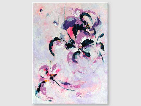 Abstract painting by Svetlansa #painting #abstract #svetlansa #homedecor #pink  #purple #artwork #wallart #abstractart