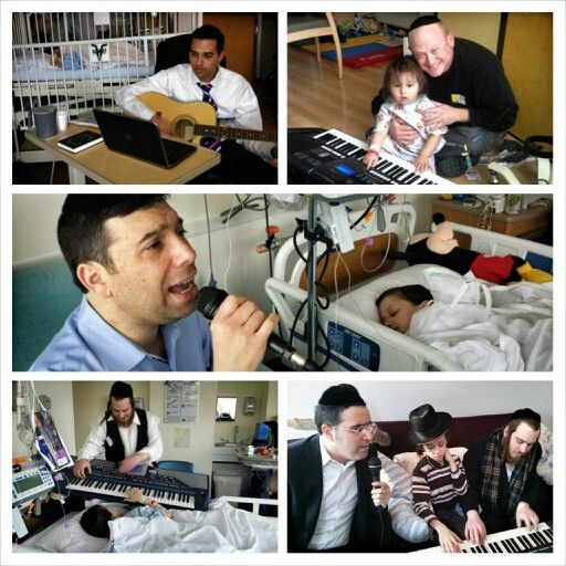 From coast to coast, Chai Lifeline's children can count on musical visits