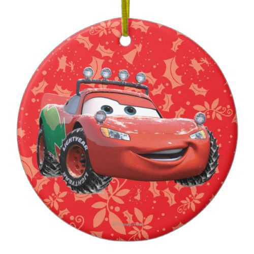 Holiday Lightning McQueen Christmas Ornament | Disney Cars ...