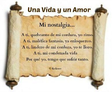 El mejor derroche de amor en UNA VIDA Y UN AMOR en casa dedicado por el autor @KOKOROALMA @esveritate #poesía