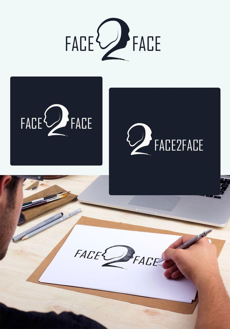 Логотип Face2face / Портфолио / Tenfly