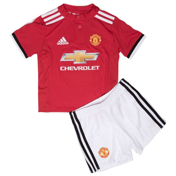 Manchester United Home Kids Football Kit 2017/18 This is the Manchester United Home Kids Football Kit 17/18. If you've got a little Red Devils fan in your family then make sure to treat them to the Manchester United 17/18 Home Kids Football Kit. Two button Henley collar. Three stripes are on the shoulders. The Manchester United 2017-18 home shirt […]
