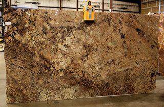 Niagra Gold granite slabs
