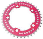 Chop Saw III BMX Bicycle 7075 chainring 110mm bcd 39T - HOT PINK