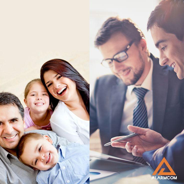 Alarmcom Akıllı Güvenlik Sistemleri ile hem evinizde hem iş yerinizde maksimum güvenlik sağlarsınız.