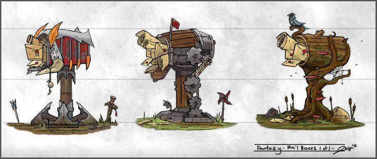 Fantasy Mailboxes, Joerden Leigh