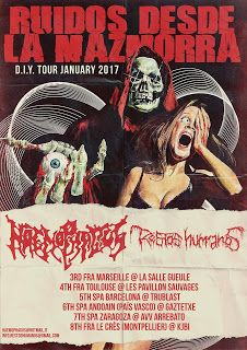 Long Live The Loud 666: RUIDOS DESDE LA MAZMORRA TOUR 2017 WITH: HAEMOPHAG...