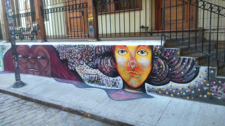 Mural Chileno #artechileno #artecallejero