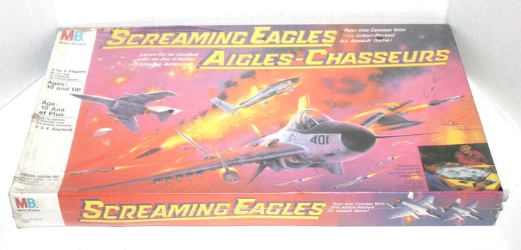 Vintage 1987 Screaming Eagles Board Game, Brand New Sealed RARE, Antique Alchemy