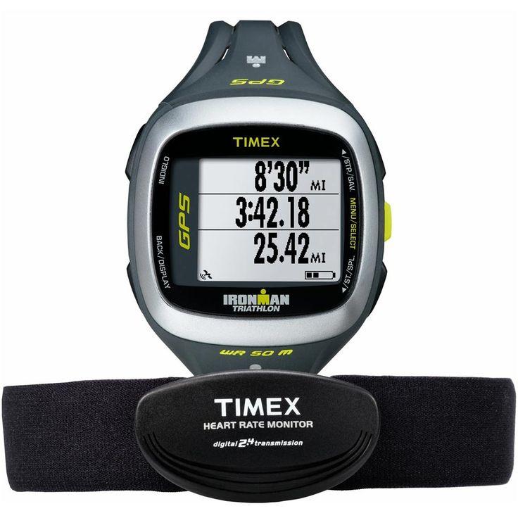 Relógio Timex Ironman Run Trainer 2.0 GPS Elite - T5K743F7
