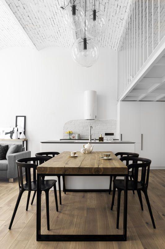 Wnętrz tygodnia: loft cały w bieli, projekt OIKOI, Agata Puławska, Sylwia Pogorzelska, fot. Black Oak Studio